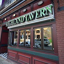 Highland Tavern front