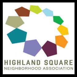 highland square neighborhood association logo